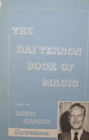 The Dai Vernon Book of Magic by Lewis Ganson - Supreme